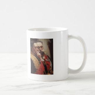 Ilya Repin- Portrait of members of State Council Basic White Mug