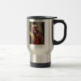 Ilya Repin- Portrait of members of State Council 15 Oz Stainless Steel Travel Mug
