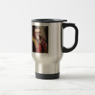 Ilya Repin- Portrait of members of State Council Stainless Steel Travel Mug