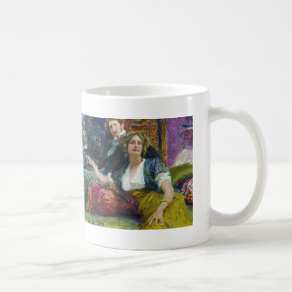 Ilya Repin- Portrait of Mitrofanovich Gorodetsky Classic White Coffee Mug