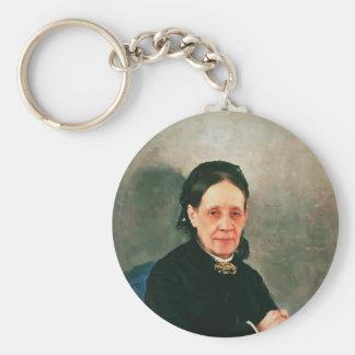 Ilya Repin- Portrait of Nadezhda Stasova Key Chain