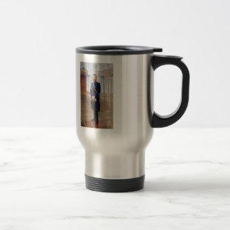 Ilya Repin- Portrait of Nicholas II 15 Oz Stainless Steel Travel Mug