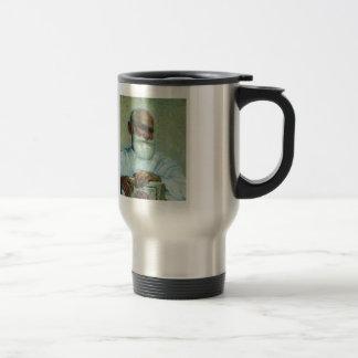 Ilya Repin-Portrait of physiologist Ivan Pavlov Stainless Steel Travel Mug