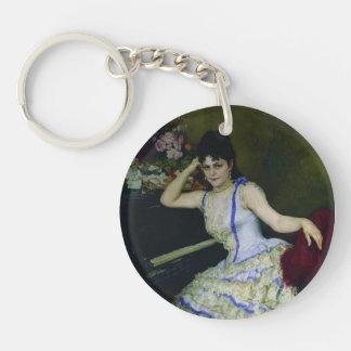 Ilya Repin- Portrait of pianist and professor Acrylic Key Chain