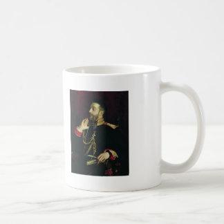 Ilya Repin-Portrait of poet Grand Prince Basic White Mug