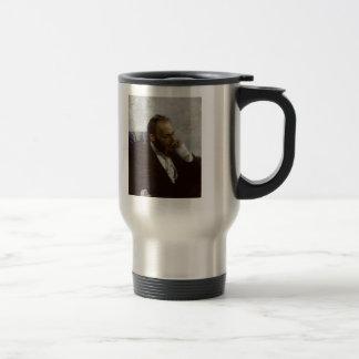 Ilya Repin- Portrait of Professor Ivanov Stainless Steel Travel Mug