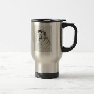Ilya Repin: Portrait of sculptor Mark Antokolski Stainless Steel Travel Mug