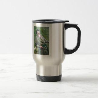 Ilya Repin- Portrait of Sidor Shavrov Stainless Steel Travel Mug