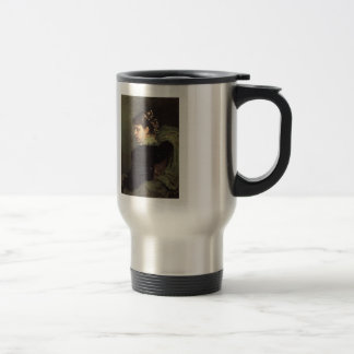 Ilya Repin- Portrait of Tatiana Rechinskay Stainless Steel Travel Mug