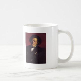 Ilya Repin-Portrait of the pianist Basic White Mug