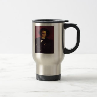 Ilya Repin-Portrait of the pianist Stainless Steel Travel Mug