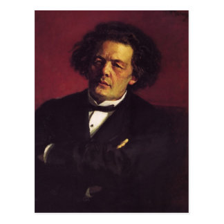 Ilya Repin-Portrait of the pianist Post Cards