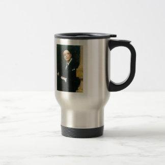 Ilya Repin- Portrait of the Poet Voinov 15 Oz Stainless Steel Travel Mug