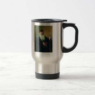 Ilya Repin-Portrait of the Surgeon Nikolay Pirogov 15 Oz Stainless Steel Travel Mug