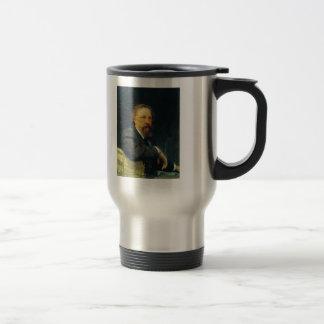 Ilya Repin- Portrait of the writer Aleksey Tolstoy Coffee Mug