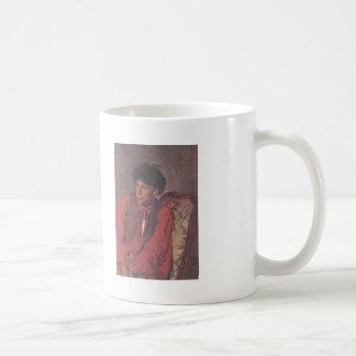 Ilya Repin- Portrait of V. E. Repin Coffee Mugs