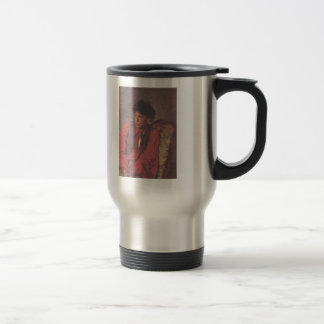 Ilya Repin- Portrait of V. E. Repin Stainless Steel Travel Mug
