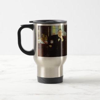 Ilya Repin- Portrait of V. K. Pleve Stainless Steel Travel Mug