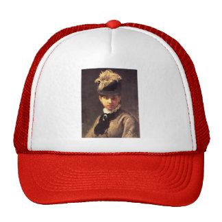 Ilya Repin- Portrait of Vera Repina Artist s Wife Trucker Hats