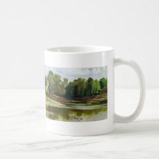 Ilya Repin- River Bank Basic White Mug