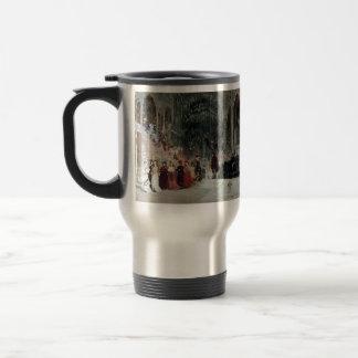 Ilya Repin- Scene from balet (study) Stainless Steel Travel Mug