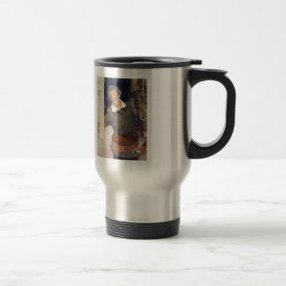 Ilya Repin- Self portrait at work Coffee Mugs