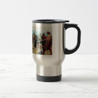 Ilya Repin- St. Nicholas Saves Three Innocents 15 Oz Stainless Steel Travel Mug