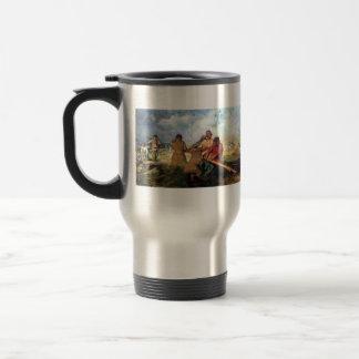 Ilya Repin- Storm on the Volga Coffee Mugs