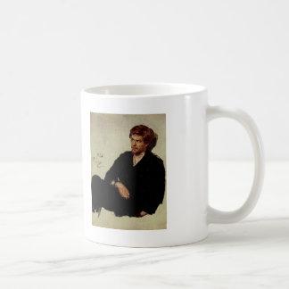 Ilya Repin- Student Nihilist Basic White Mug