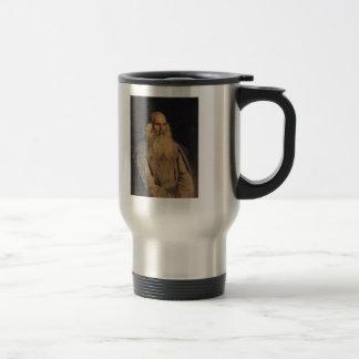 Ilya Repin- Study of an Old-Man Stainless Steel Travel Mug