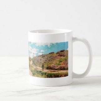 Ilya Repin- Summer landscape in Kurskaya guberniya Coffee Mugs