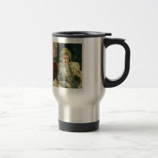 Ilya Repin- The Blond (Portrait of Tevashova) Stainless Steel Travel Mug
