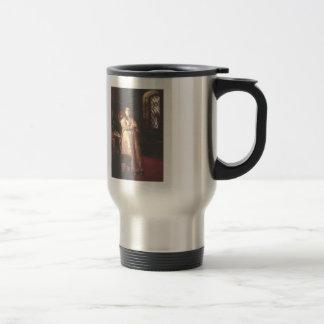 Ilya Repin- Tsarevna Sophia Alexeevna Stainless Steel Travel Mug