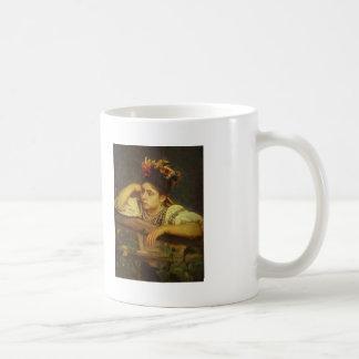 Ilya Repin- Ukranian Girl Basic White Mug