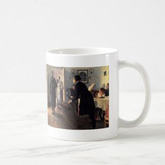 Ilya Repin- Unexpected Visitors Coffee Mugs
