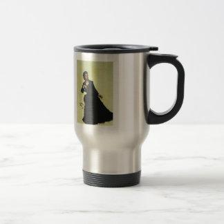 Ilya Repin- Woman playing with Umbrella 15 Oz Stainless Steel Travel Mug