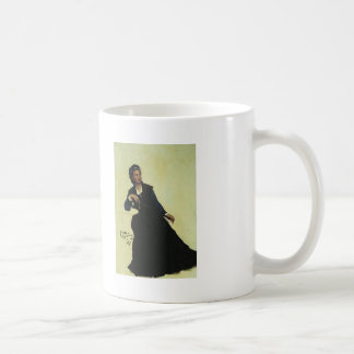 Ilya Repin- Woman playing with Umbrella Basic White Mug