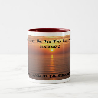 IM002432, Sit Back, Enjoy the Sun. Then Hurry u... Two-Tone Mug
