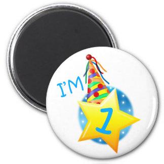 I'm 1 6 cm round magnet