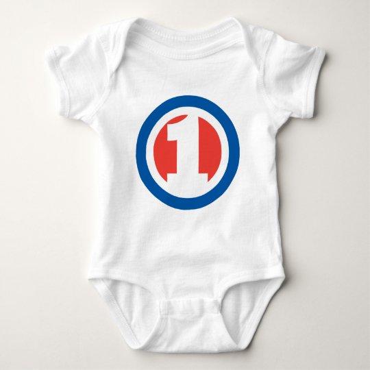 I'm 1! baby bodysuit