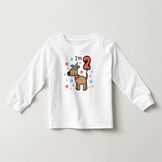I'm 2 Doggie Toddler T-Shirt