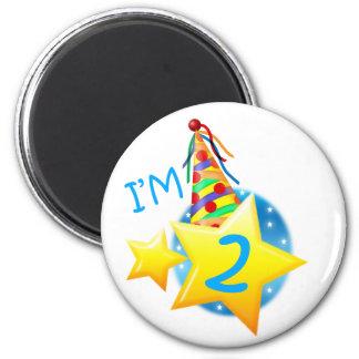 I'm 2 6 cm round magnet