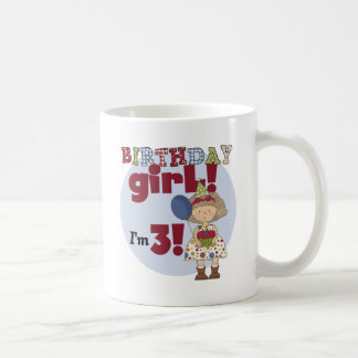 I'm 3 Birthday Girl Tshirts and Gifts Mugs