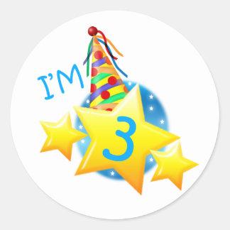 I'm 3 stickers