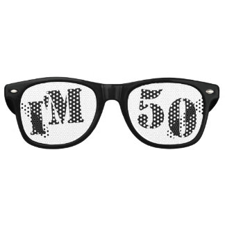 I'm 50 - 50th Birthday Novelty Retro Sunglasses