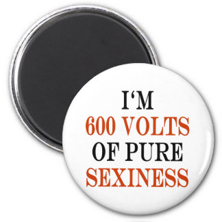 I'm 600 Volts Of Pure Sexiness Magnets
