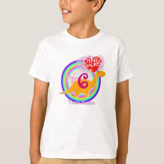 I'm 6 - 6th Birthday Party Dinosaur T-Shirt