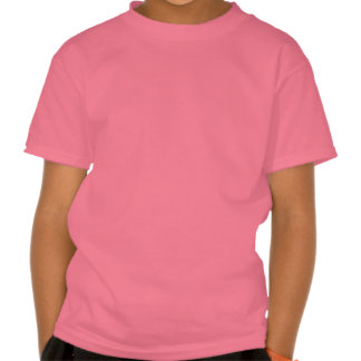I'm 9 Pink And Brown Flowers Tee Shirt