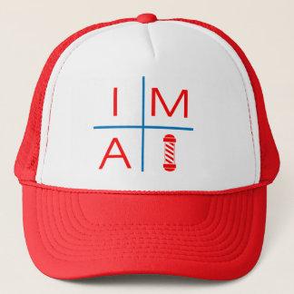 IM A BARBER TRUCKER HAT