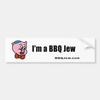 I'm a BBQ Jew Bumper Sticker